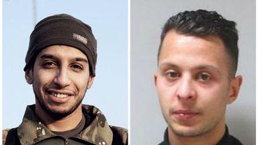 Abdelhamid Abaaoud et Salah Abdeslam.