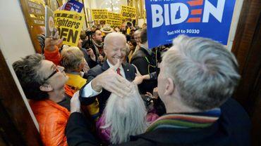 Le candidat démocrate à la Maison Blanche Joe Biden, le 8 novembre 2019 à Concord, dans le New Hampshire