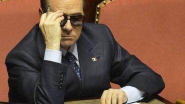 L'ex-Premier ministre italien Silvio Berlusconi, le 16 mars 2013 à Rome