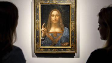 """Un spécialiste du marché de l'art croit avoir localisé le """"Salvator Mundi"""" de Léonard de Vinci, porté disparu depuis son achat pour une somme vertigineuse il y a un an et demi."""