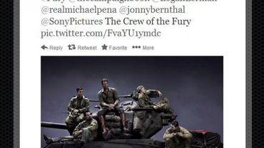 """""""Fury"""" s'intéressera aux exploits de cinq soldats américains face aux nazis"""