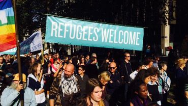 Succès de foule pour la marche en soutien aux réfugiés ce dimanche