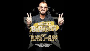 Visionnez le livestream de Ringo Starr pour son anniversaire