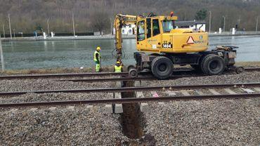 Infrabel installe le système ETCS sur la ligne Dinant-Namur