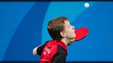 Laurens Devos champion d'Europe de tennis de table