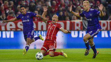 Arjen Robben, au centre