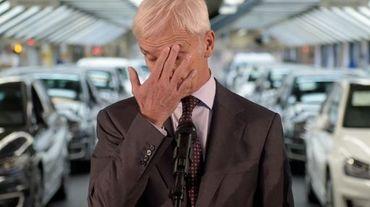 Le patron de Volkswagen Matthias Müller le 21 octobre 2015 à Wolfsburg