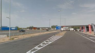 La police de la route est intervenue mercredi dans la matinée sur l'aire d'autoroute de Saint-Ghislain.
