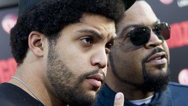 """Oshea Jackson Jr. et son père Ice Cube ont réalisé plus de 60 millions de dollars de bénéfices lors du premier week-end de sortie de """"Straight Outta Compton"""""""