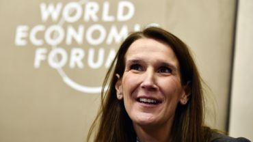Sophie Wilmès à Davos