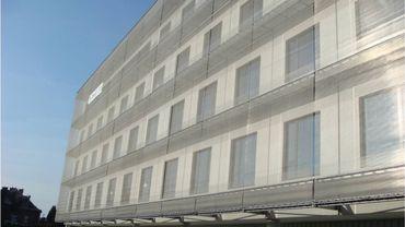 La nouvelle aile du bâtiment (CHR Namur).