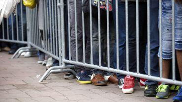 Demandeurs d'asile: forte baisse à un an d'écart, augmentation sur un mois