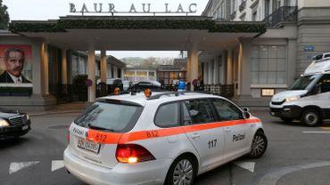Les arrestations ont eu lieu ce jeudi à l'hôtel Baur au Lac