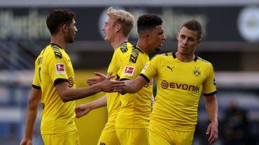 Thorgan Hazard a ouvert le score pour Dortmund