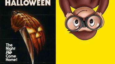 """Au programme à 6H00, figurait un dessin animé de """"Curious George"""" le singe. A peine sortis du lit, les enfants ont toutefois eu droit à un film d'horreur de 1978 à l'ambiance d'Halloween."""