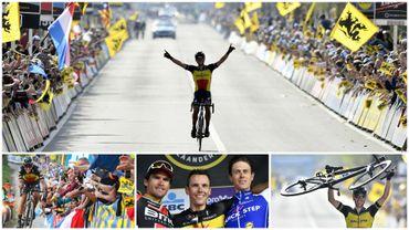 Rétro cyclisme: Le jour où Philippe Gilbert a mis la Flandre à ses pieds