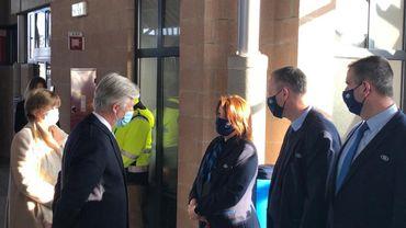 Le Roi Philippe remercie le personnel de la SNCB et d'Infrabel pour avoir continuer d'assurer le même service à la population pendant toute cette période de coronavirus