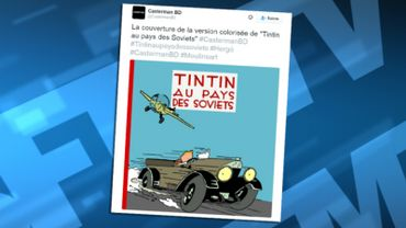 """""""Tintin au pays des Soviets"""" sera en vente à partir du 11 janvier"""