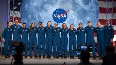 La nouvelle promotion d'astronautes recrutée par la Nasa en 2020 ira peut-être sur la Lune, dans le cadre du programme Artémis