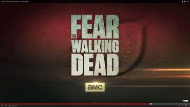 """Capture d'écran de la vidéo promotionnelle pour le spinoff de """"The Walking dead"""", intitulé """"Fear The Walking Dead"""""""