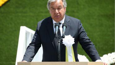 À Nagasaki, le secrétaire général des Nations unies souligne l'urgence de la dénucléarisation