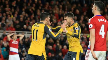 Arsenal se relance et enfonce Middlesbrough