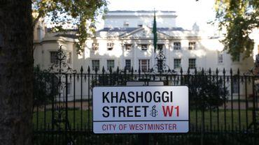 Une rue de Londres brièvement rebaptisée Khashoggi, un mois après son meurtre