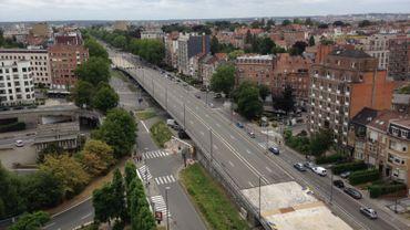 Démolition du viaduc Reyers: regardez nos images en direct