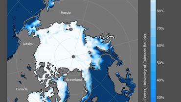 La glace de mer du Pôle Nord fond disparaîtra complètement l'été avant 2059, la baisse du CO2 à cause du Coronavirus n'y changera rien