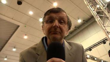 Freddy Tougaux au Salon de l'Auto