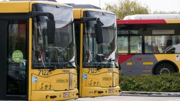 Tous les bus ont quitté les dépôts aux premières heures, mais les agents de contrôle n'ont pas pris leur service.