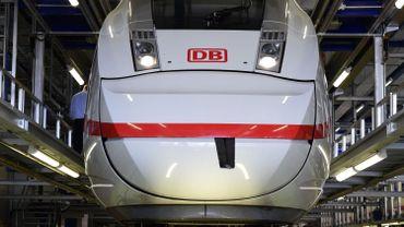 Un train ICE de la Deutsche Bahn