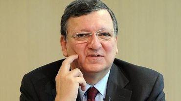 Le président de la Commission européenne Jose Manuel Barroso le 1er mars 2014 à Berlin