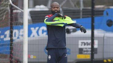Didier Lamkel Zé à l'entraînement ce mardi