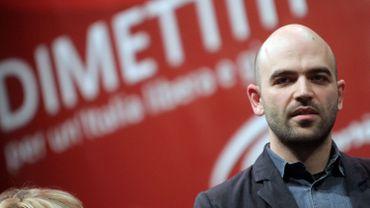 RobertoSaviano est devenu une référence pour les critiques du nouveau ministre de l'Intérieur.