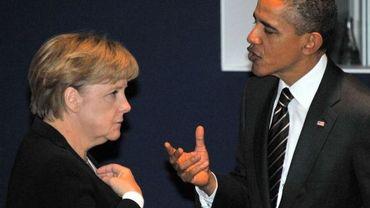 Angela Merkel et Barack Obama en novembre 2011