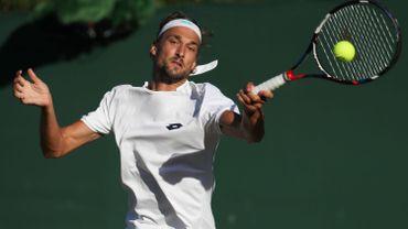 Bemelmans, sans solution face au service d'Isner, quitte Wimbledon au 2e tour