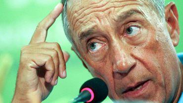 L'ancien président du Parti social-démocrate portugais (PSD, centre droit) et commentateur vedette à la télévision portugaise, Marcelo Rebelo de Sousa.