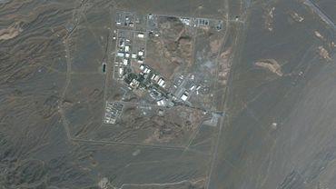 Photo satellite fournie par Maxar Technologies le 28 janvier 2020 montrant le centre nucléaire de Natanz dans le centre de l'Iran