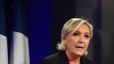 Marine Le Pen le 7 mai dernier