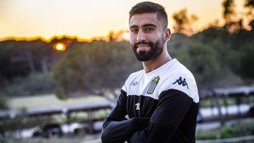 Kaveh Rezaei est de retour au Sporting Charleroi