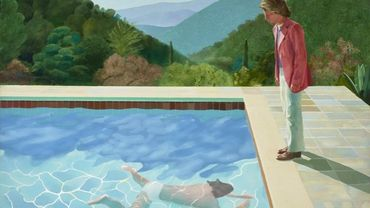 """Portrait of an Artist (Pool with two figures)"" du peintre britannique David Hockney a été adjugé pour 90,3 millions de dollars en novembre 2018"