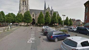 La Place de la Vaillance à Anderlecht