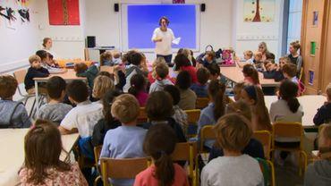 Sensibilisation à la pauvreté pour ces enfants de l'école des Eglantiers
