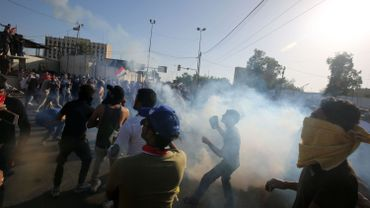 Les manifestations en Irak durent depuis le 1er octobre.
