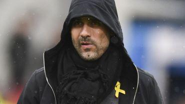 Procédure disciplinaire contre Guardiola pour port d'un symbole politique catalan