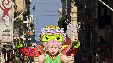Le carnaval de La Valette à Malte est l'un des plus anciens d'Europe