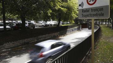 24 nouveaux radars tronçons sur les routes de Wallonie d'ici fin 2020