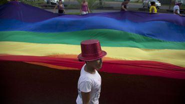 Manifestation contre l'homophobie