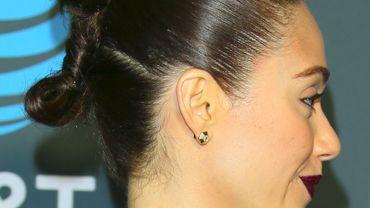 Emmy Rossum sur le tapis rouge des 24e Critics' Choice Awards